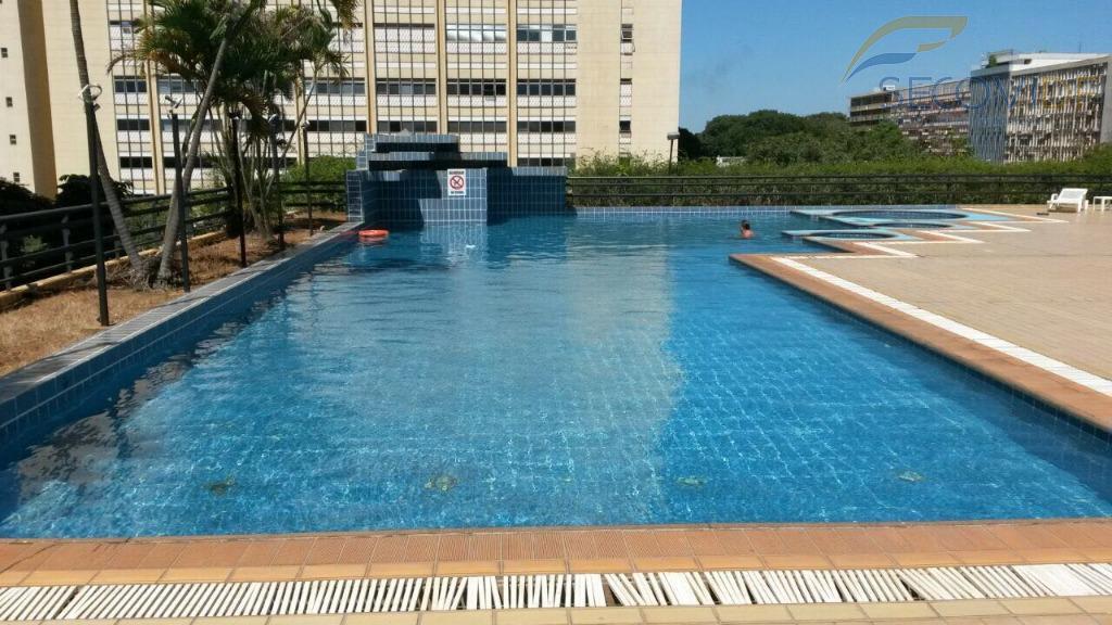 shs quadra 02 - bonaparte hotel - asa sul flat cobertura duplex, superconservado, 02 banheiros, 02...