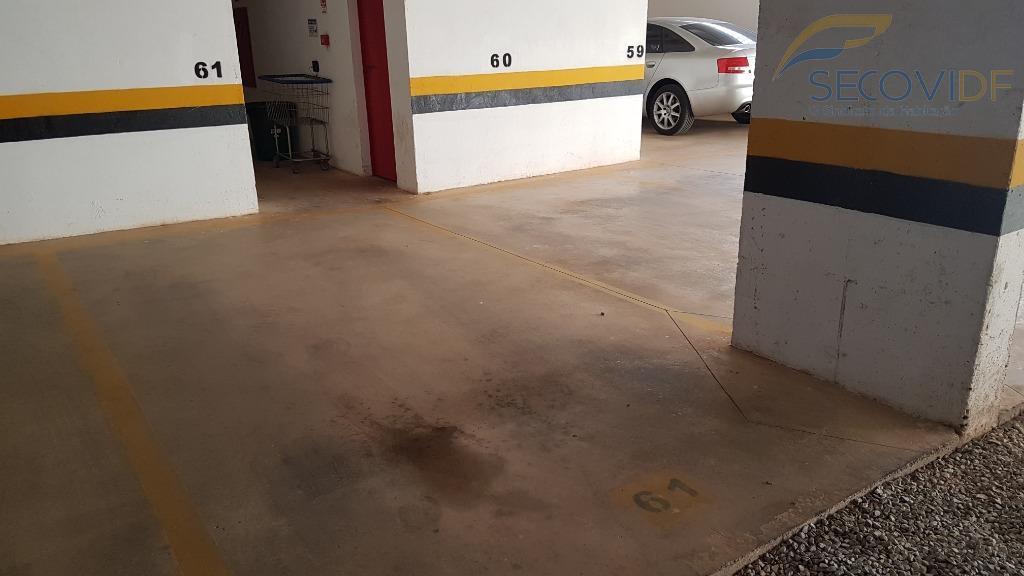 17 garagem - QS 502 RESIDENCIAL HARMONIA