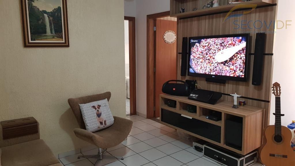 qi 05 bloco a - costa do marfim - taguatinga norteapartamento de 02 quartos sendo 01...