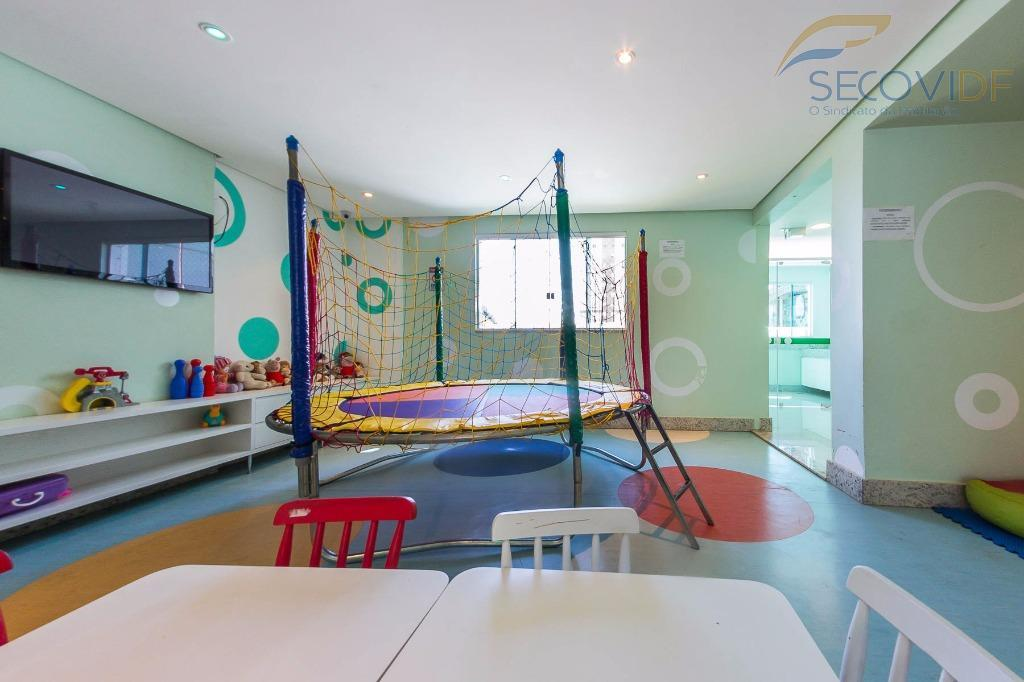 rua 37 norte - lindo loft no edifício san lorenzo, andar alto, condomínio com área de...